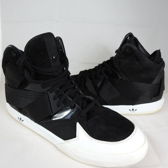 release date cd018 d48c6 adidas Other - Adidas Originals C-10 Mens Black White Loop Shoes
